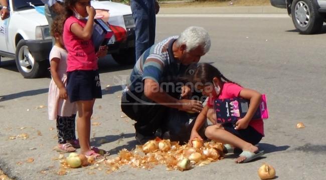 Meral Akşener gittikten sonra soğanları topladı