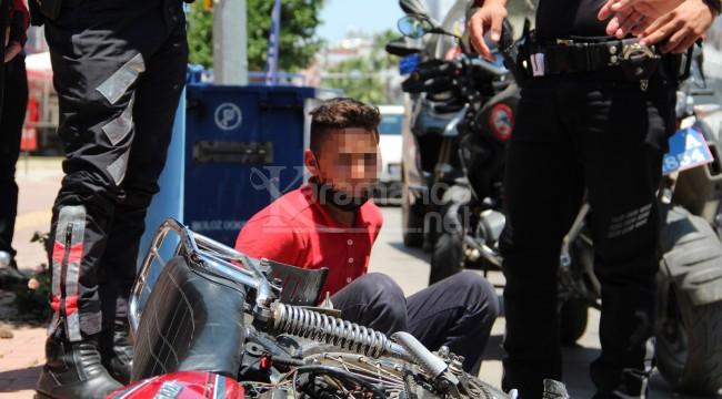 Muratpaşa'da yakalanan 13 yaşındaki çocuğun 170 suç kaydı çıktı
