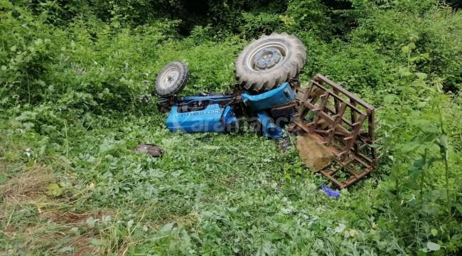 Traktörün altında kalan İlyas Tan öldü