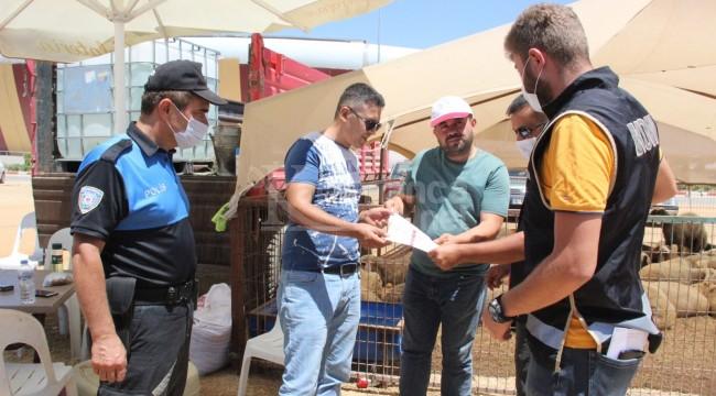 Karaman kurban pazarında broşürlü sahte para uyarısı