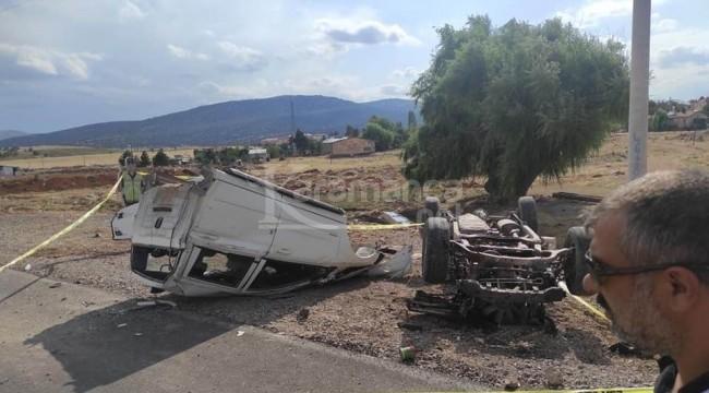 Sarıoğlan'daki kazada Mehmet Ali Bağcı öldü