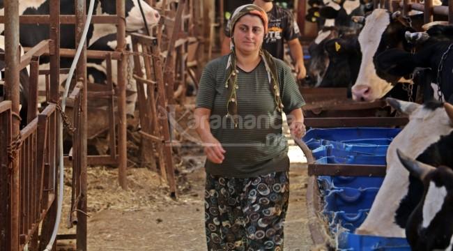 42 yaşındaki Fatma Öncel'in beyaz atı çalındı