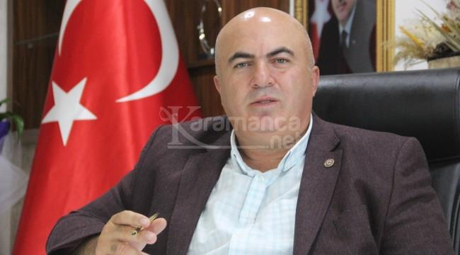 """Başkan Bayram: """"Böyle giderse susuzluk üretimi bitirecek"""""""