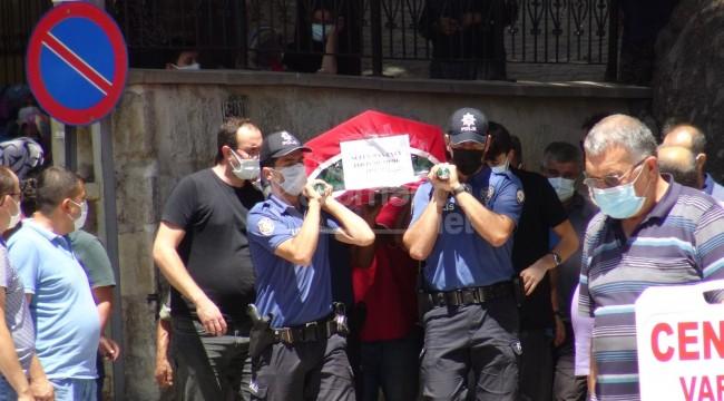 Kansere yenik düşen 2 çocuk babası polis memuru toprağa verildi