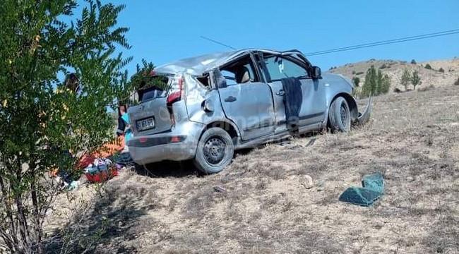 Şiran'da trafik kazası 1 ölü, 4 yaralı