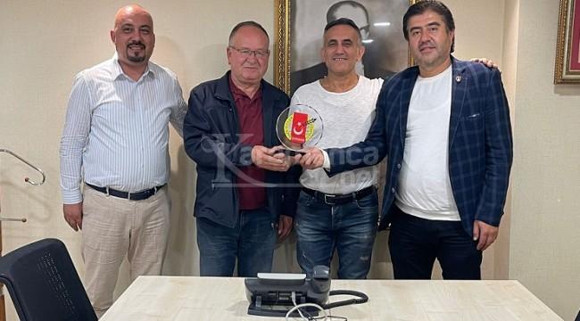 Gazetecilerden New Karaman Hotel'e Teşekkür Ziyareti