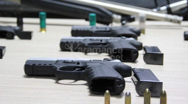 Karaman'da 9 ayda 342 ruhsatsız silah yakaladı