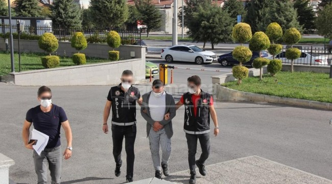 Karaman'da gözaltına alınan şahıs mahkemece tutuklandı