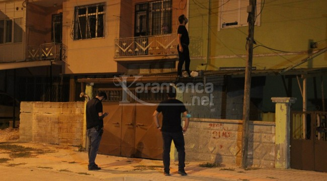 Karaman'da polis çatılarda şüpheli aradı