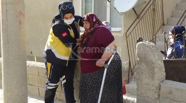 Karaman'daki silahlı çatışmada yaşlı kadın vuruldu