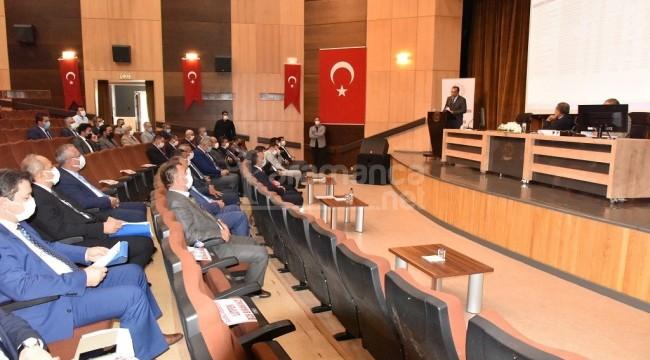 Karaman'da yılın son koordinasyon kurulu toplantısı yapıldı