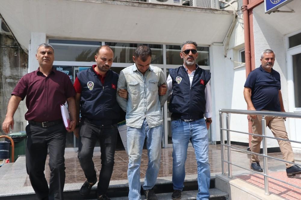 Polis katil zanlısını dilenci kılığına girerek yakaladı