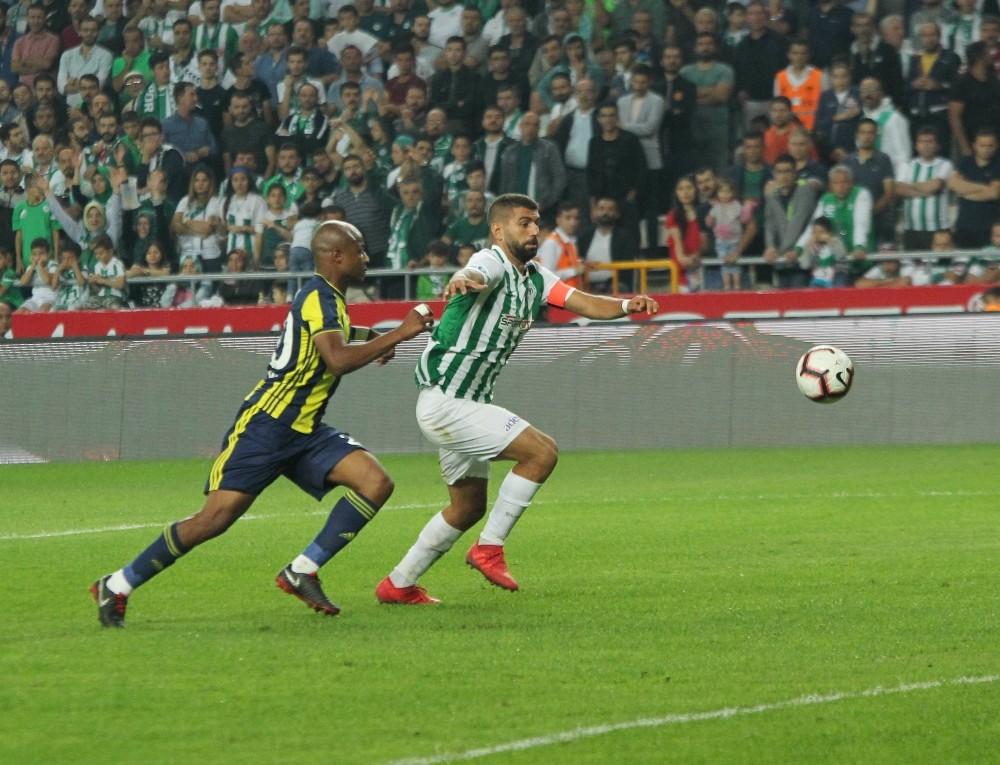 Spor Toto Süper Lig: Atiker Konyaspor: 0 - Fenerbahçe: 1