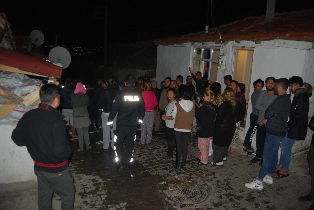 Tekirdağ'da yangın, mahalleliyi sokağa döktü