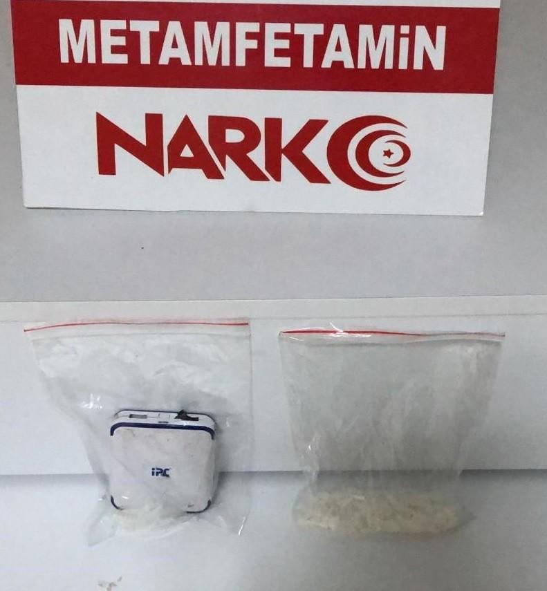 Uyuşturucu ile yakalanan şüpheli tutuklandı