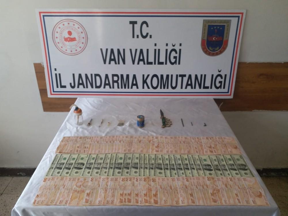 Özalp'ta kırmızı civa ile uyuşturucu madde ele geçirildi