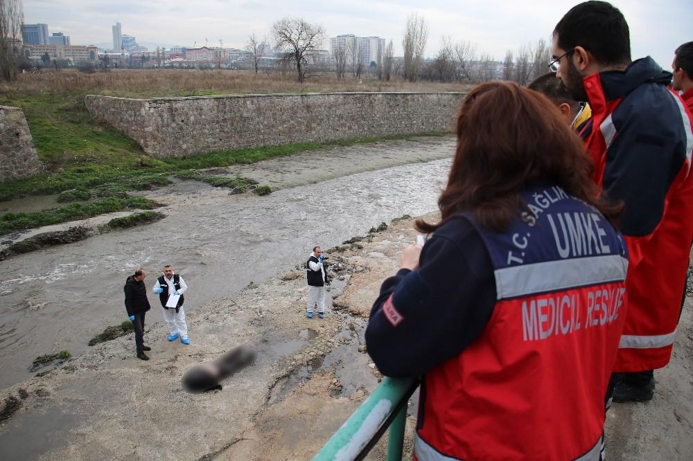 Ankara Çayı'nda ceset bulundu