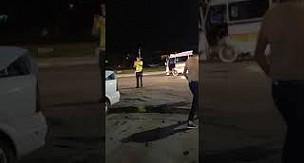 Karaman'da minibüs ile otomobilin çarpıştığı kazada 3 yaralı